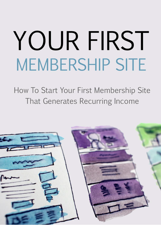 Your First Membership Site - Guiders
