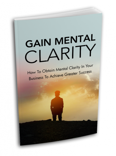 Gain Mental Clarity - Guiders