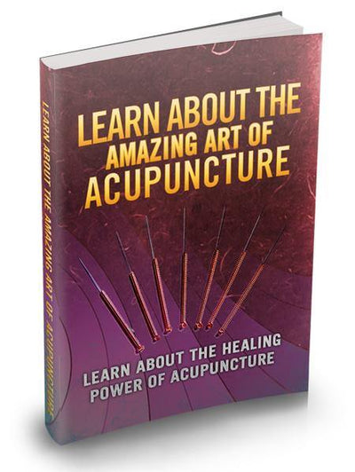 Learn About The Amazing Art Of Acupuncture - Guiders