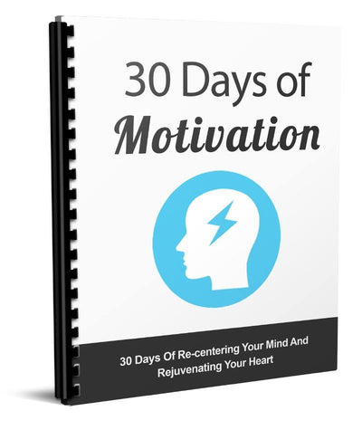 The 30 Days Of Motivation - Guiders