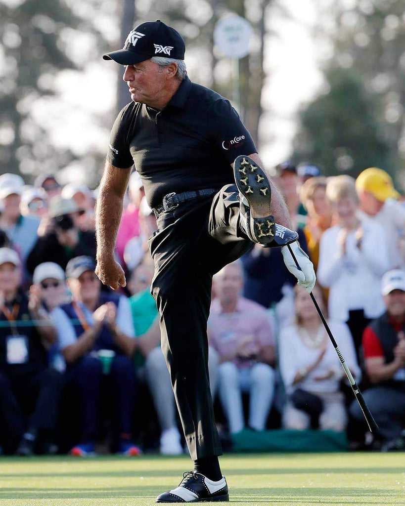 Gary Player at Master with ELIXR OnCore Golf Ball