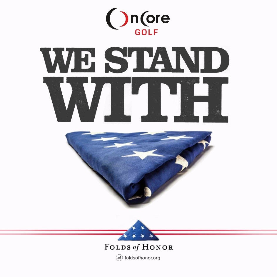 Oncore Golf Announces Partnership with Folds of Honor