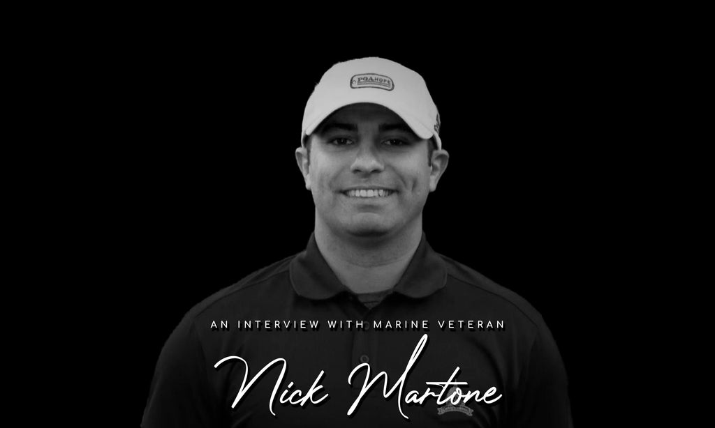 Learn about PGA Hope from a marine veteran, Nicholas Martone.