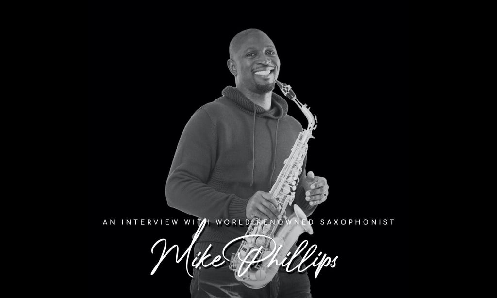 Join us as we Interview World Renowned Saxophonist Mike Phillips.