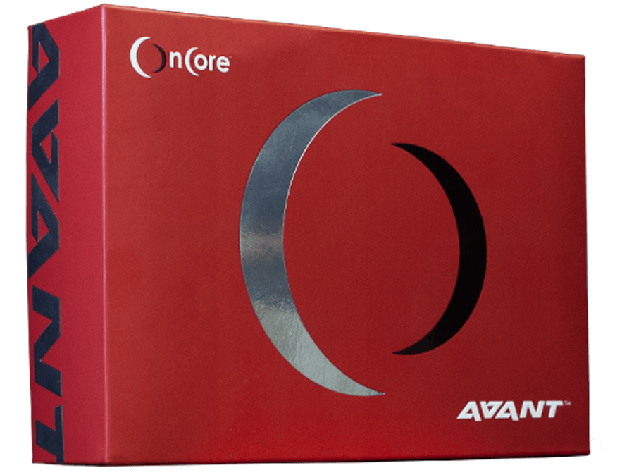 Avant red packaging