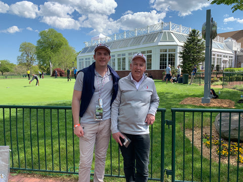 Bethpage Black PGA Championship 2019 (OnCore founder with Chairman)