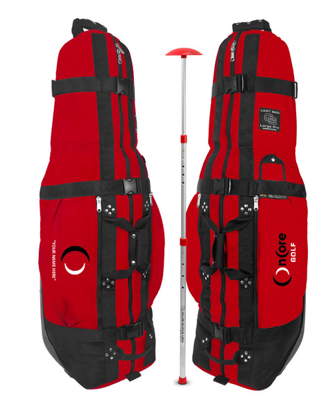 Custom OnCore Last Bag Large Pro w/ Stiff Arm (Red)