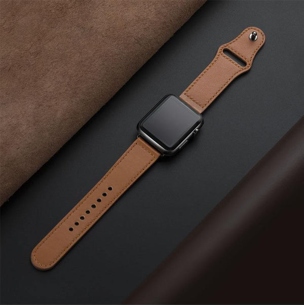 Leather Loop Strap for Apple Watch - Ace Leatherworks