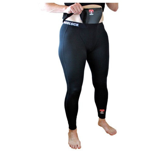 Women's Workout Pants with Integrated Groin Protection Pocket