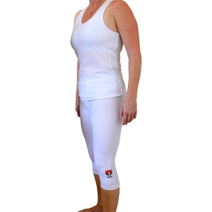 Women's Sports Tank with Optional Chest Protection Inserts