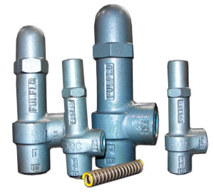 "1"" - NPT Fulflo FVJ-5R-SS Series By-Pass Relief Valves"