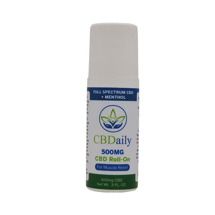 Feel the warming of CBD Roll-On.500 MG