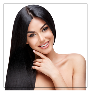 Give yourself healthy & shiny hair