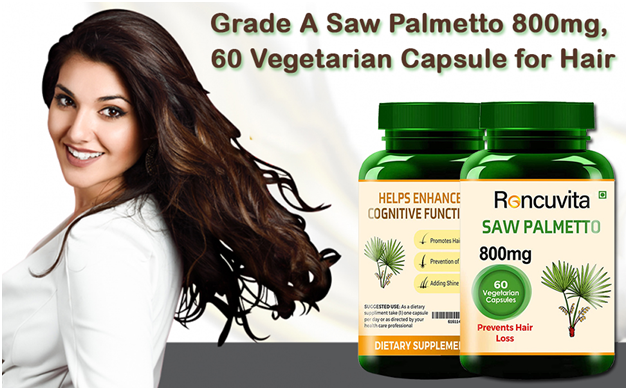 Saw Palmetto 800mg for Hair