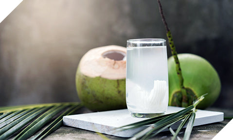 use coconut water