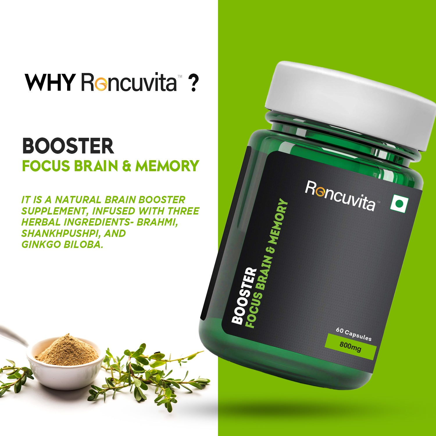 Memory booster supplement
