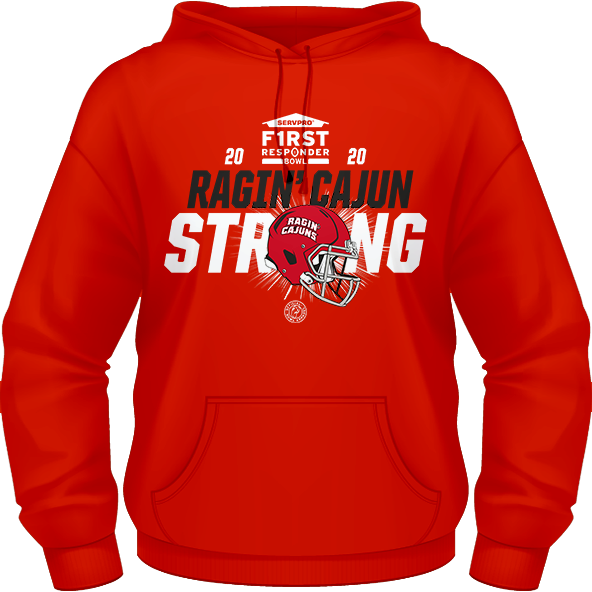 2020 LOUISIANA RAGIN' CAJUNS PERFORMANCE HOODIE