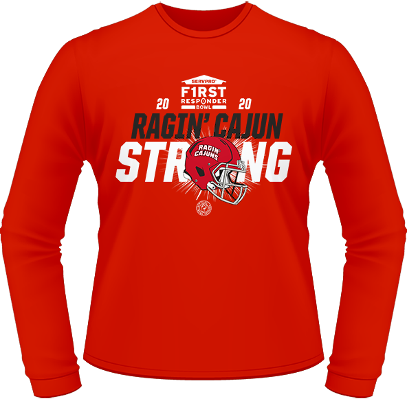 2020 LOUISIANA RAGIN' CAJUNS PERFORMANCE LONG SLEEVE