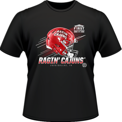 2020 LOUISIANA RAGIN' CAJUNS TEE