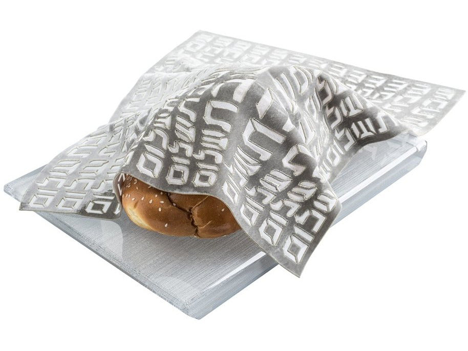 Challah Cover Hebrew Type