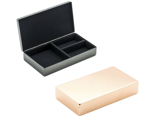 Classic Hinged Jewelry Box