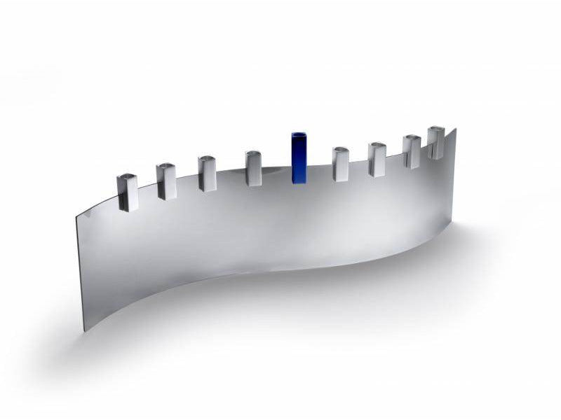 Tel Aviv Sea Menorah - Cobalt