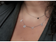 LOVE  Star of David Necklace - All CZ