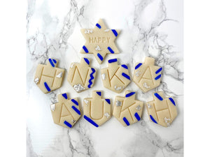 Marzipan Happy Hanukkah Greeting