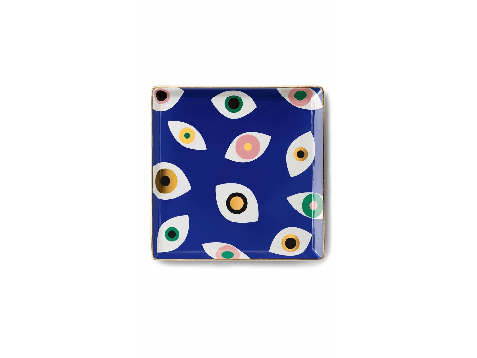 Evil Eye Porcelain Plate