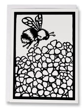 Load image into Gallery viewer, BW234 Bumble Bee Coloring Card