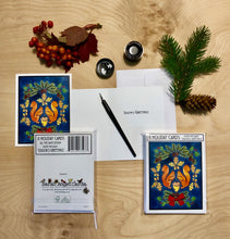 Load image into Gallery viewer, Wholesale Sarah Angst Art Packaged Holiday Cards