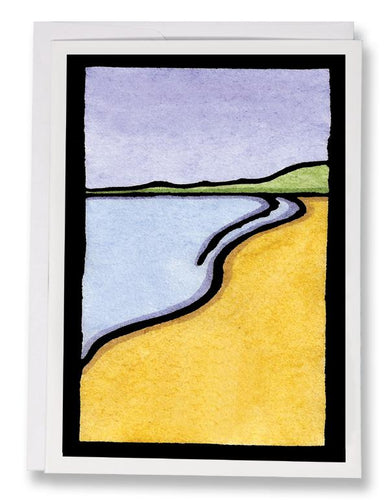 SA066: Beach - Sarah Angst Art Greeting Cards, Giclee Prints, Jewelry, More