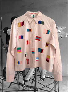 Vintage Flags Cotton Shirt