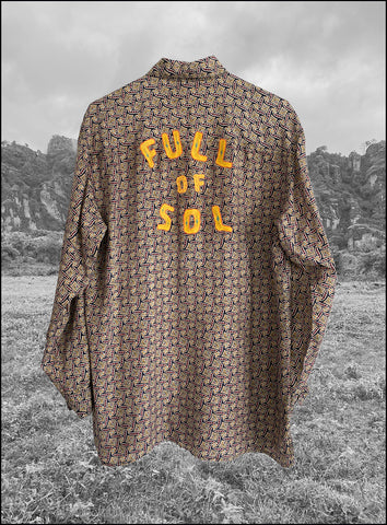 Vintage Full of Sol Silk Shirt