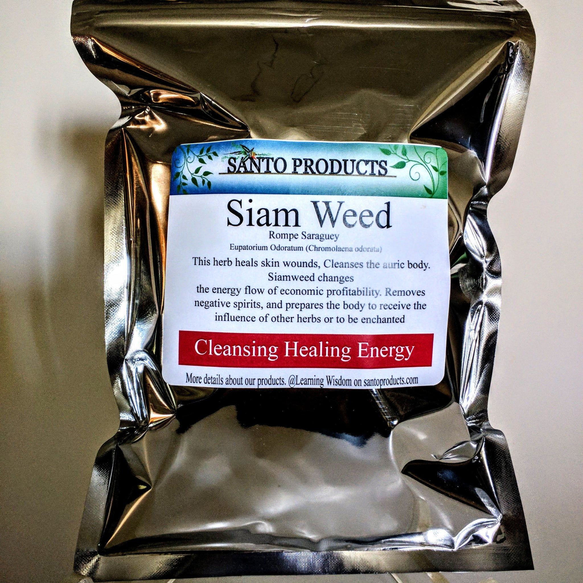 Siam Weed Rompe Saraguey: 2 oz Santo Products