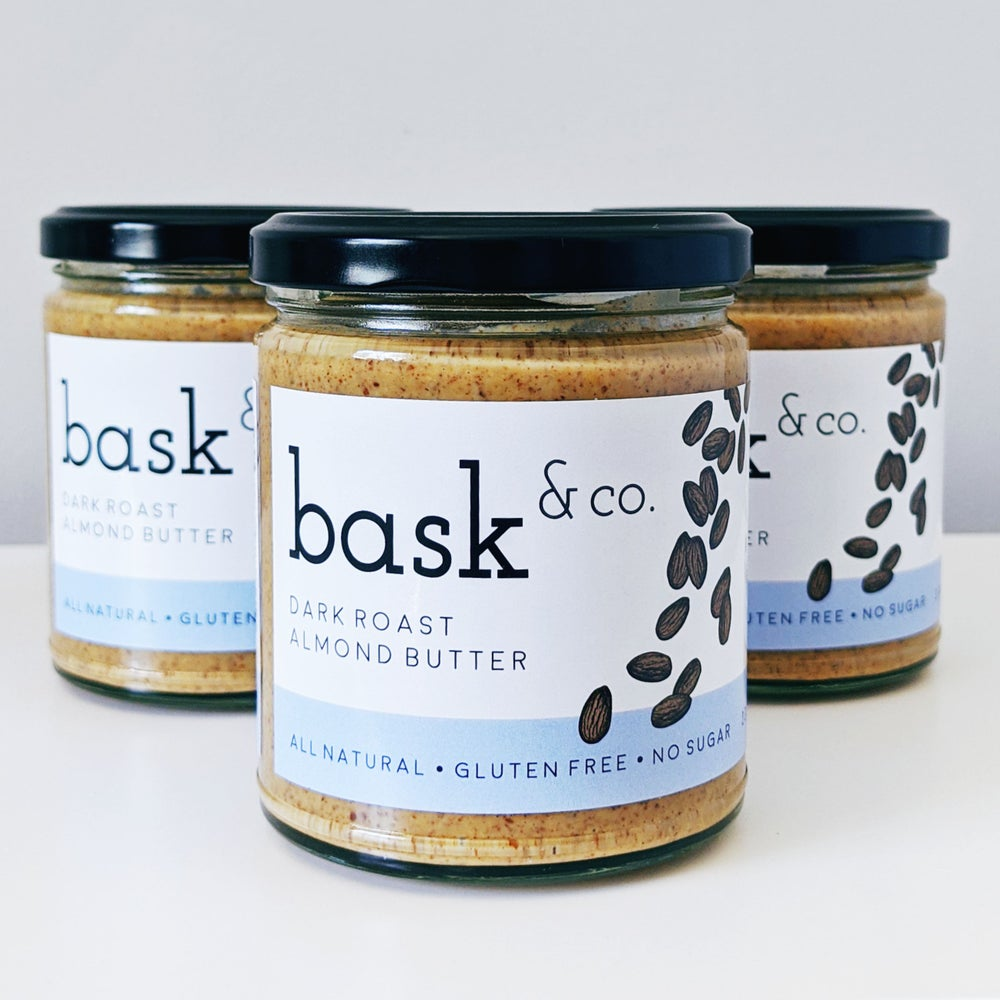 Dark Roasted Almond Butter 230g