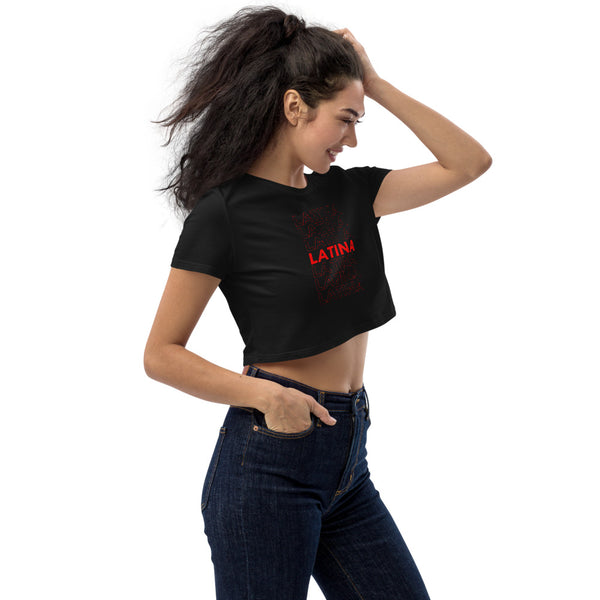 LATINA - WOMENS CROP TOP