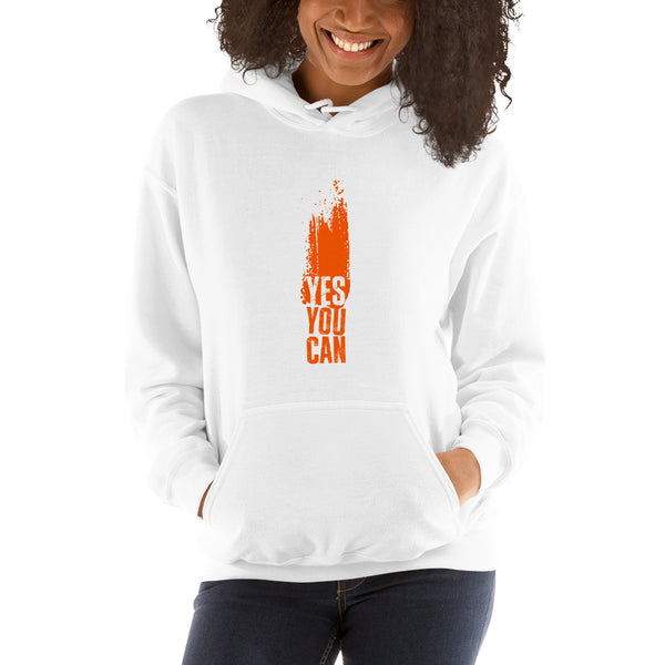 YES YOU CAN - UNISEX HOODIE
