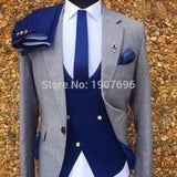 3 Piece Tuxedo men suits