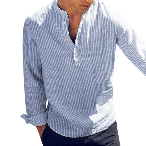 Men's  Long Sleeve Slim Fit