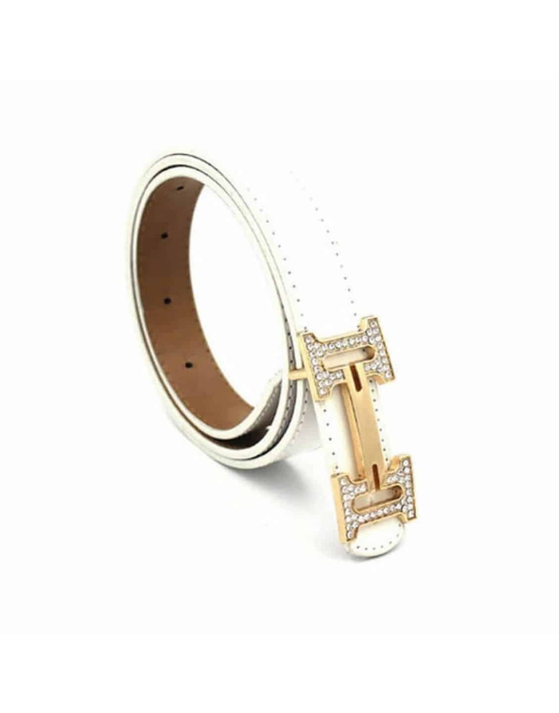 Luxury Brand Fashion PU Leather Belt