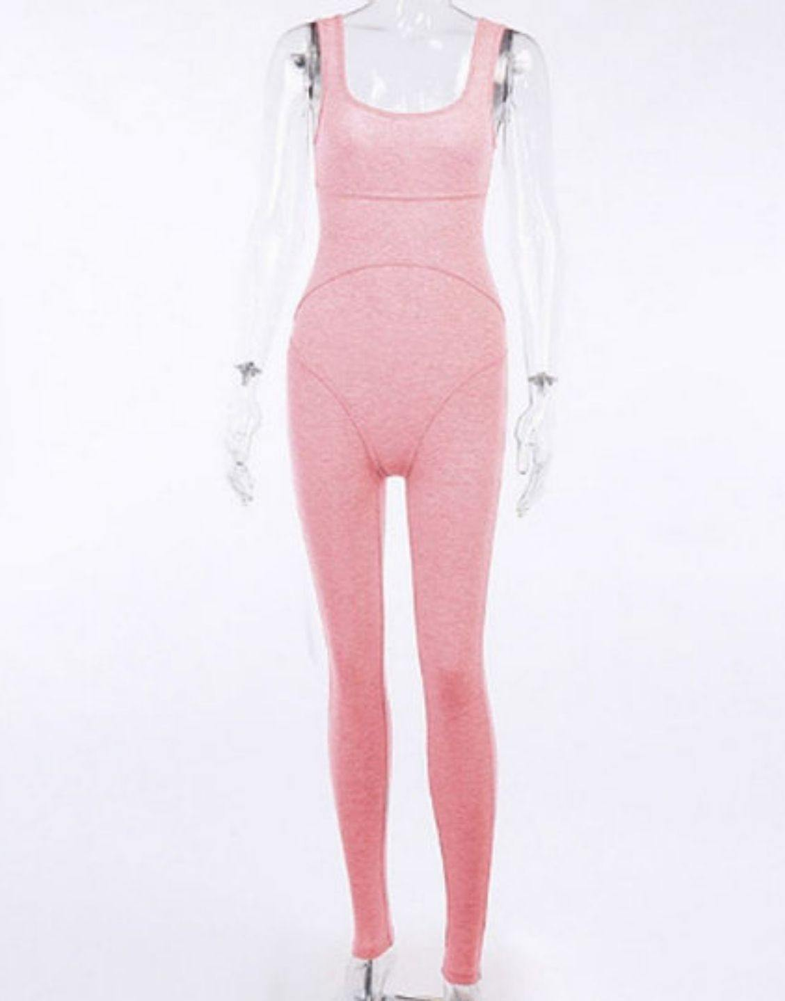 New Summer Cotton Skinny Sexy Jumpsuit
