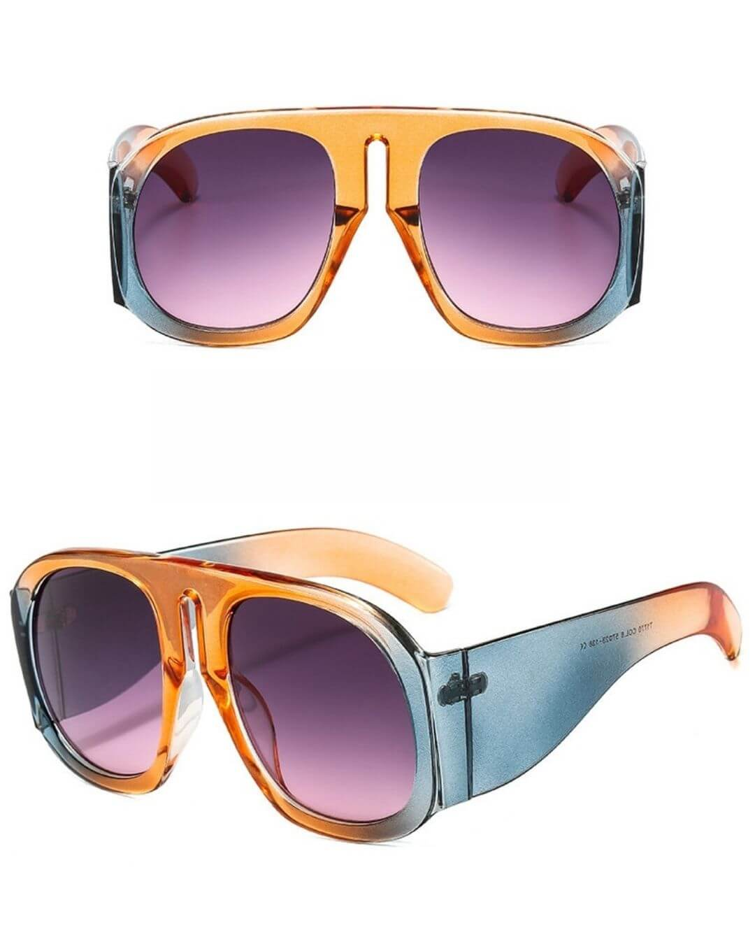New Vintage Colorful Steampunk Sunglasses