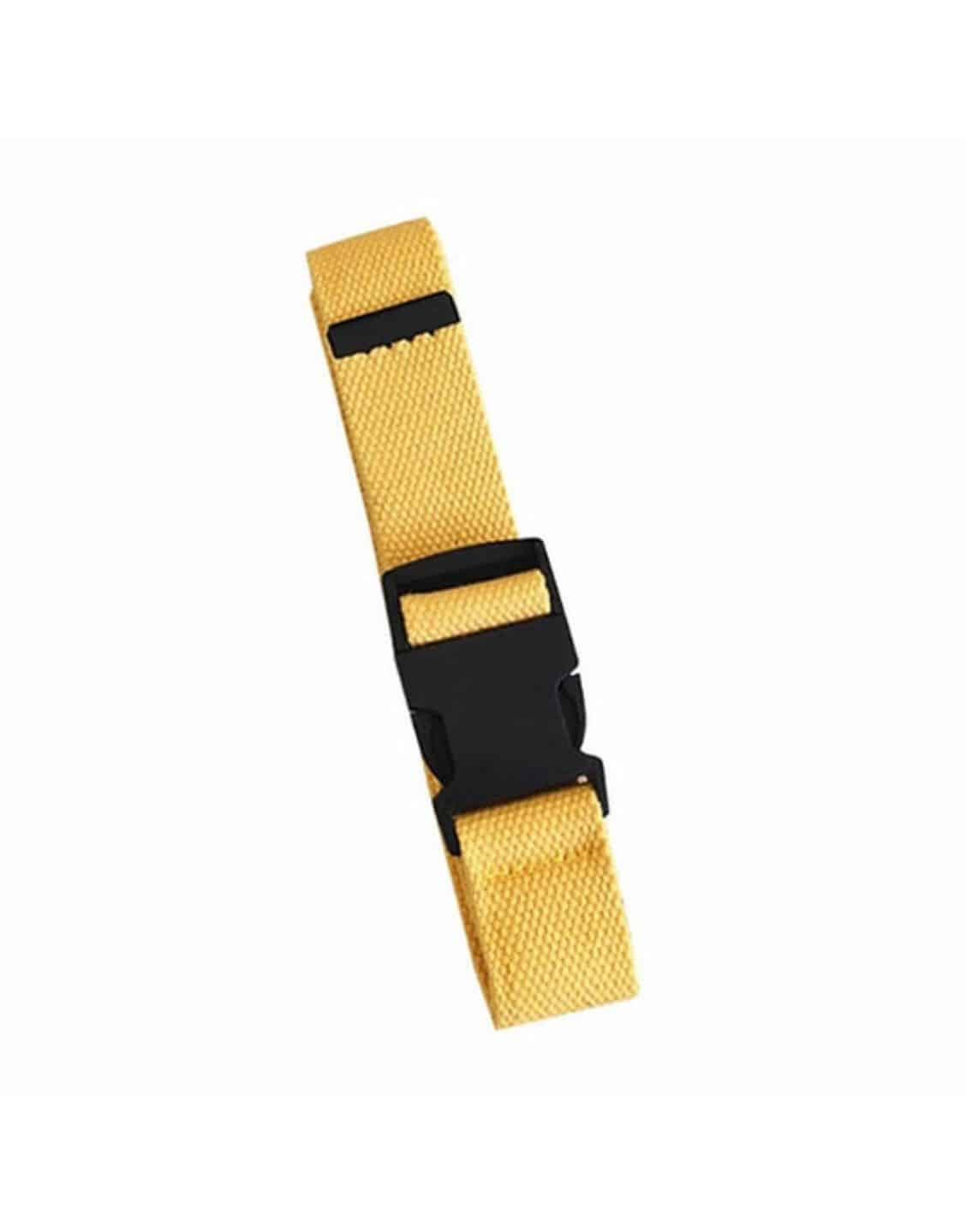 Plastic Buckle Long Belt