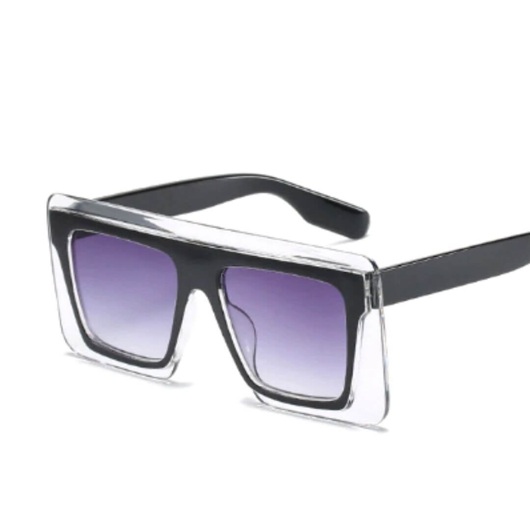Big Frame Square Brand Design Sunglasses