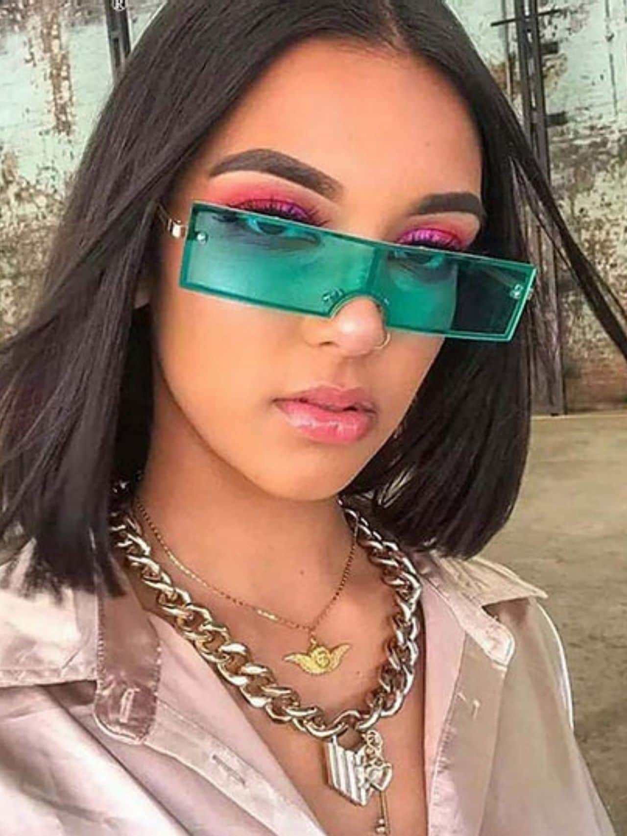 Trendy Brand Designer Retro Sunglasses