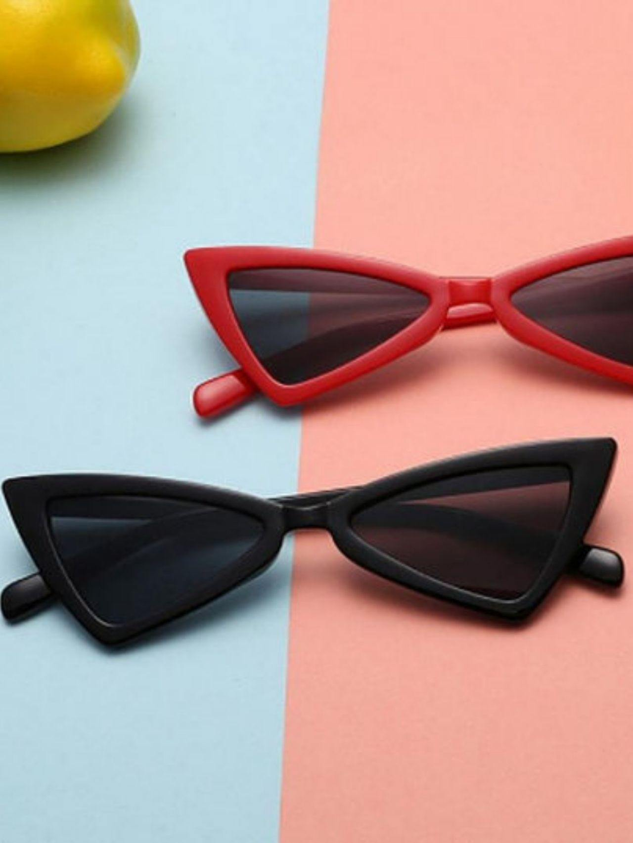 Vintage Cat-eye Frame Sunglasses