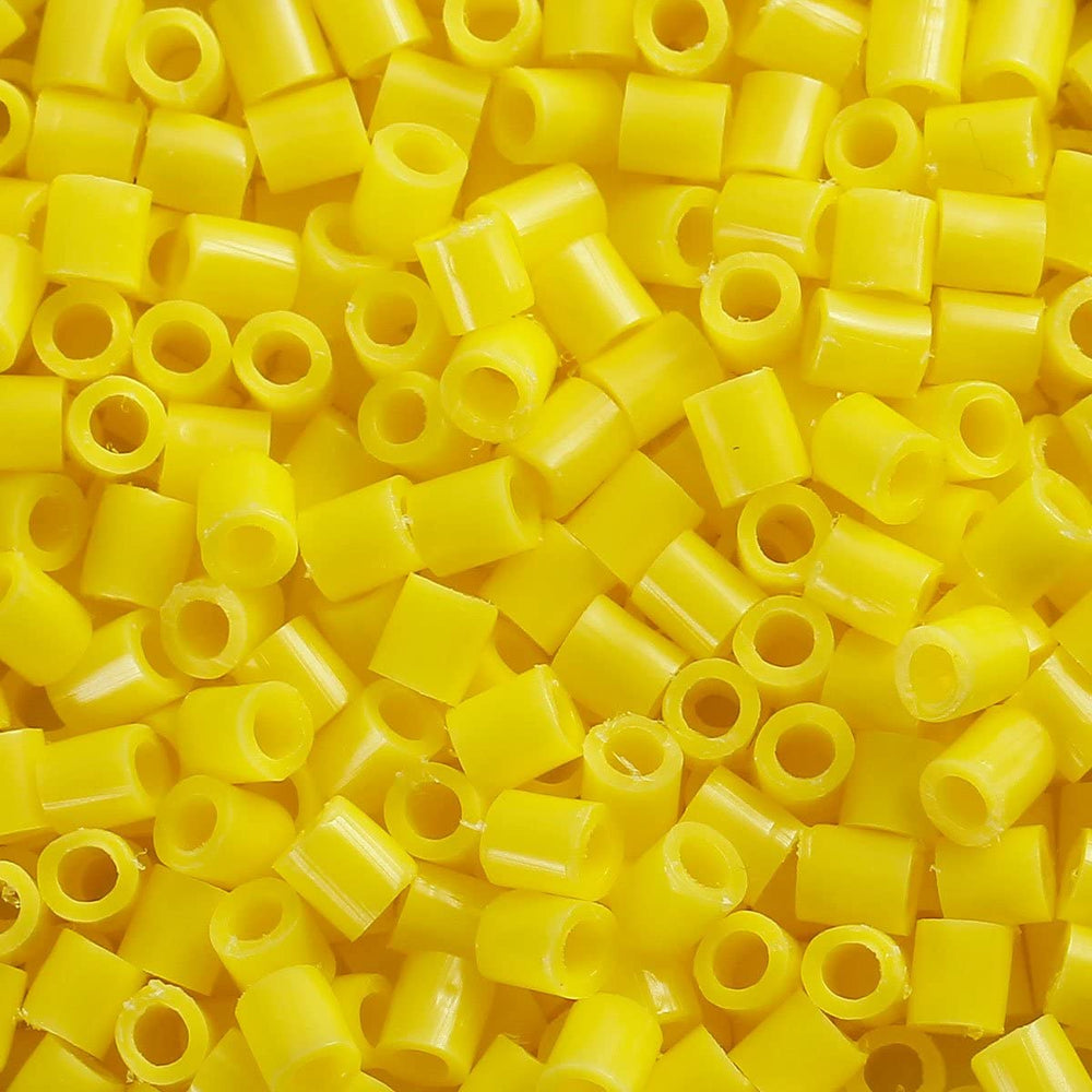 2,000 Yellow Fuse Beads 5 x 5mm Iron Together Fusion Beads