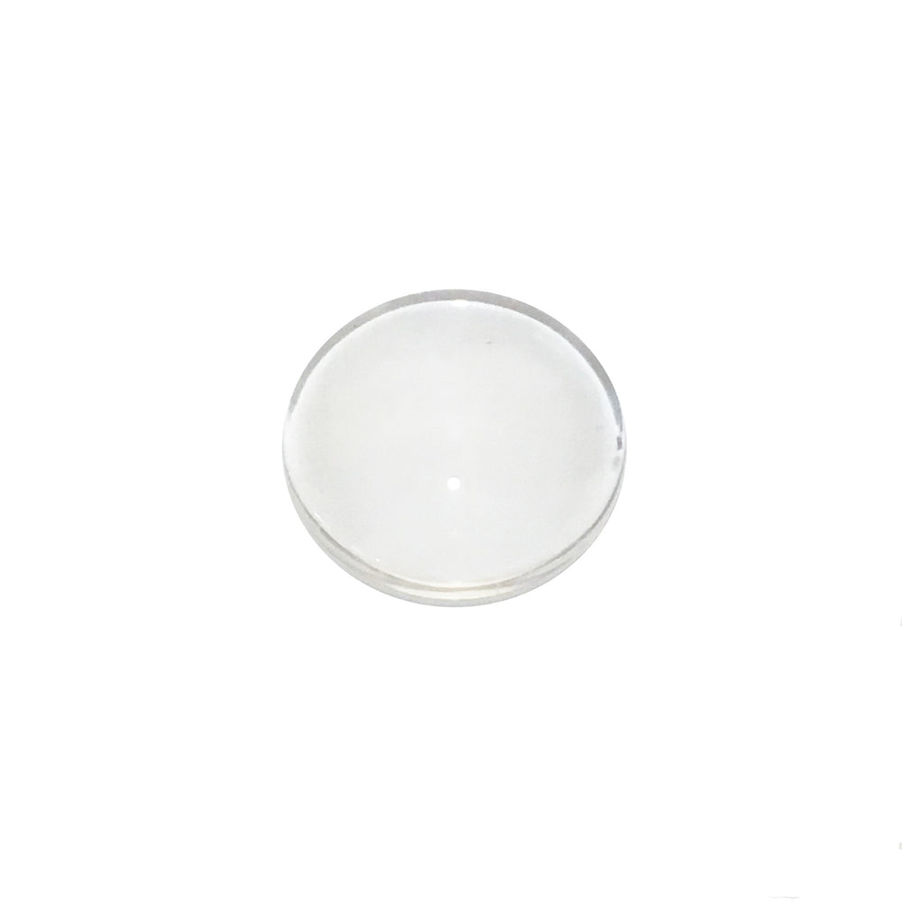 100 Clear Glass Dome Round Cabochons 12mm Flat Back 1/2 Inch