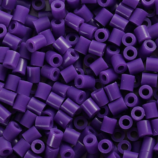 2,000 Dark Purple Fuse Beads 5 x 5mm Iron Together Fusion Beads